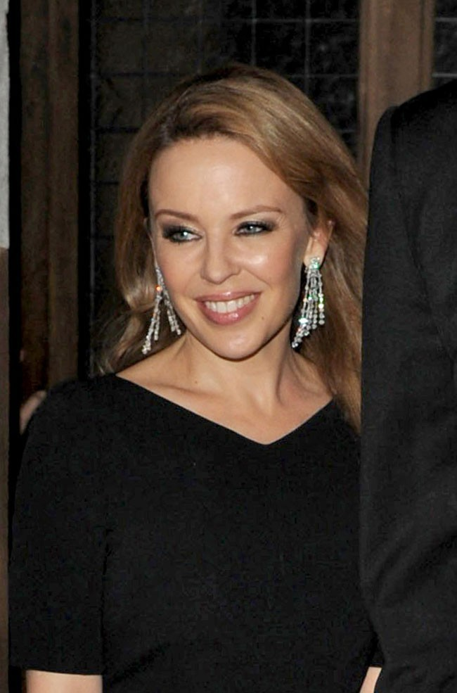 Kylie Minogue le 18 septembre 2012 à Londres