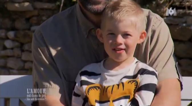 Gaby le fils de Loïc et Stéphanie a 5 ans