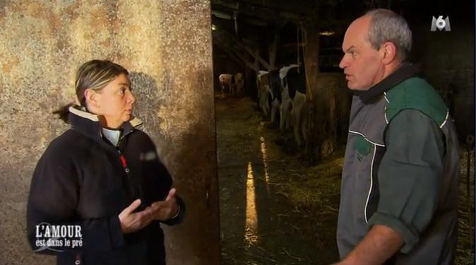 ... et lui dit qu'élever des vaches laitières ne lui plairait pas du temps !