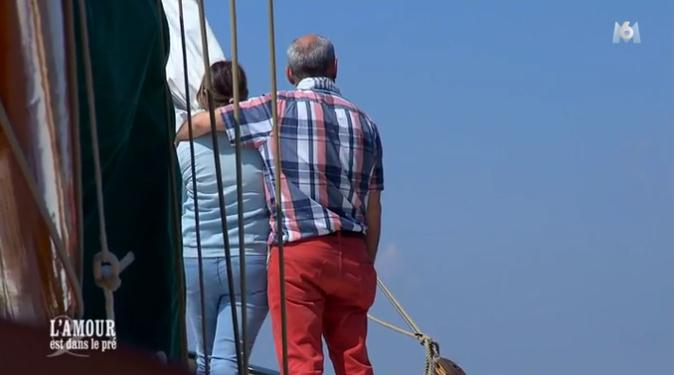 Sortie en bateau pour Marianne et Yves