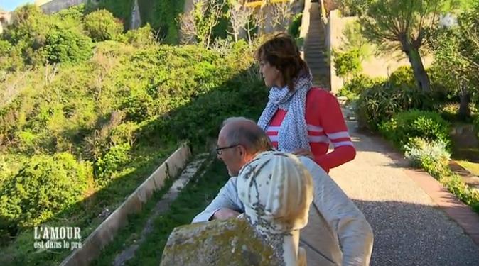 Bernard a emmené Michèle visiter la maison de Napoléon sur l'île d'Elbe !