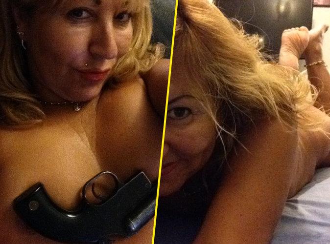 Photos : L'amour est dans le pré : Une ancienne prétendante s'affiche nue avec une arme à feu !