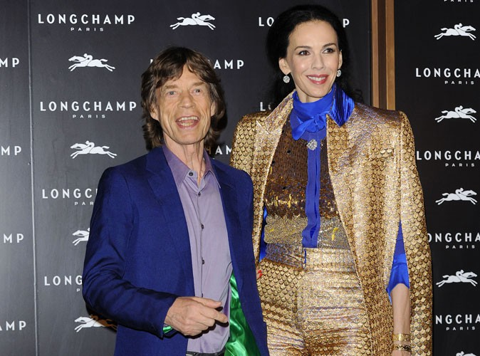 Photos : L'Wren Scott et Mick Jagger : retour sur un couple de stars discret mais brillant sur tapis rouges…