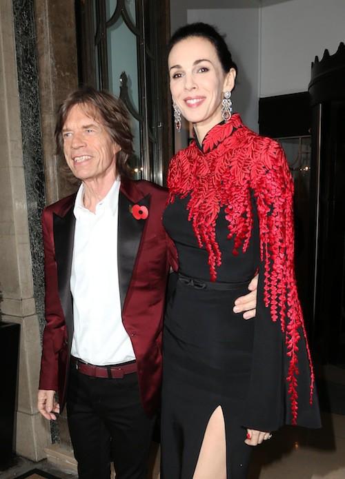 Toujours en novembre 2013, L'Wren Scott mettait déjà à l'honneur la jupe fendue