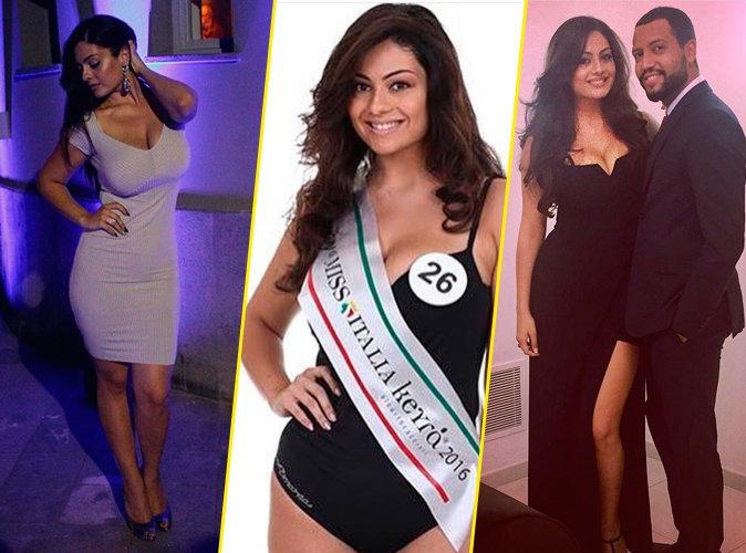 Photos : La 1ère dauphine de Miss Italie fait une taille 42 et est jugée trop grosse !