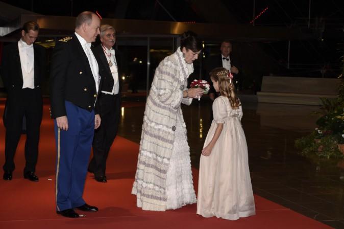 Le prince Albert II et Caroline de Monaco le 19 novembre 2014