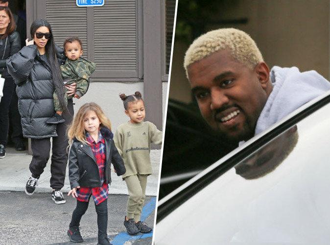 La famille Kardashian en fête : Kanye West a retrouvé le bonheur !