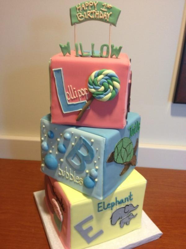 Le sublime gâteau de la petite Willow