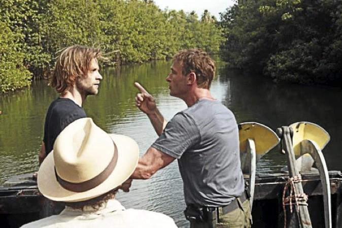 """Tournage de la saison 1 de '""""The River"""""""
