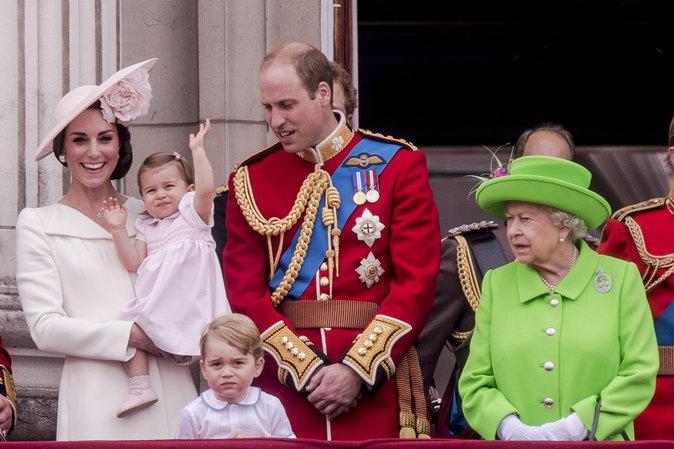 Kate Middleton fête l'anniversaire d'Elizabeth II