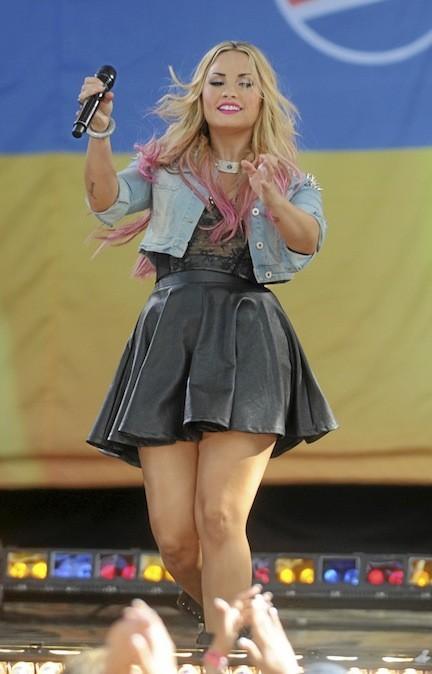 Demi Lovato : + 15 kilos de chagrin !