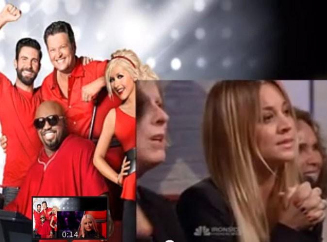 Kaley Cuoco soutient sa petite soeur Briana dans les coulisses de The Voice !