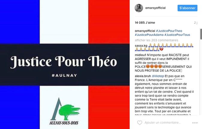 Photos : La soeur de Théo raconte son viol, les stars demandent #JusticePourThéo