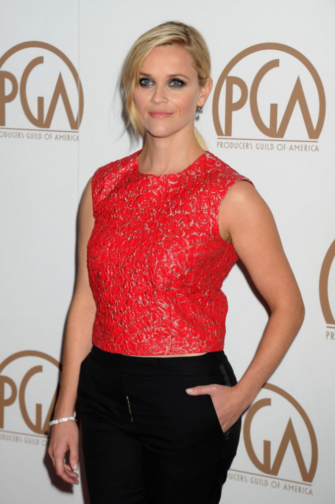 Reese Witherspoon il y a quelques semaines
