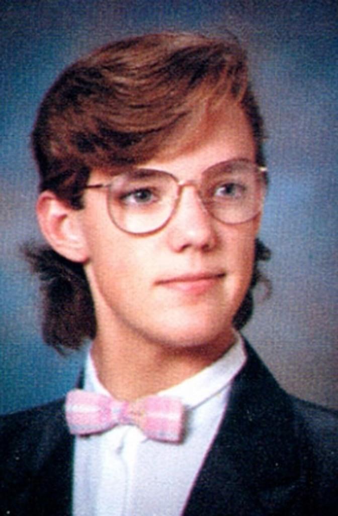 Noeud pap' rose et mini mulet : la classe de 1988.