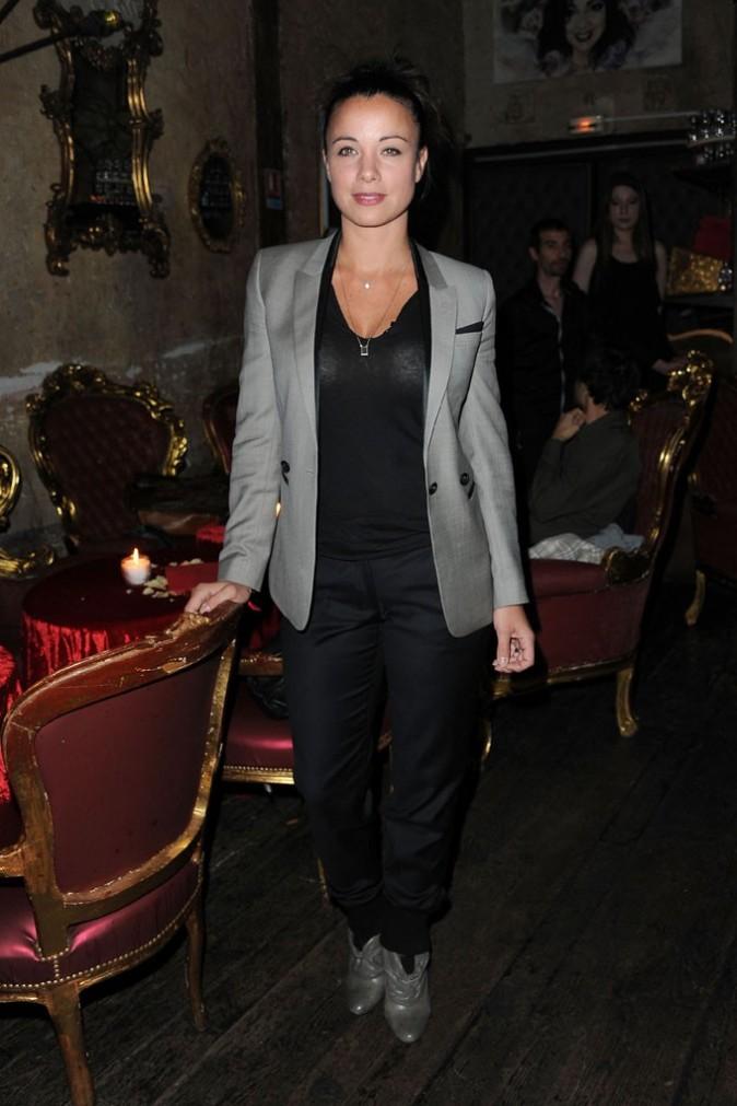 Anne-Gaelle Riccio lors de la soirée de lancement de la tournée Française des Jeux-NRJ 12, le 16 juin 2011 à Paris.