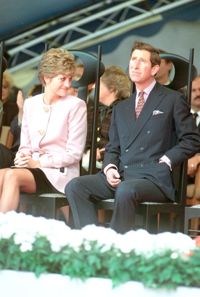Lady Di et son époux, le prince Charles