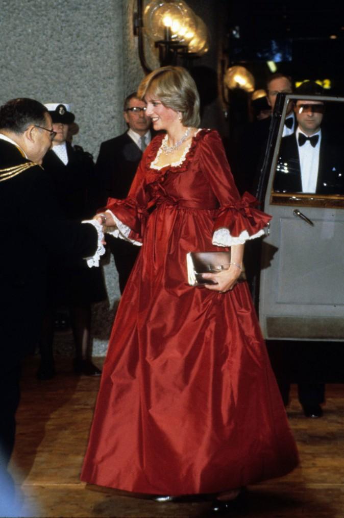 Lady Diana en mars 1982