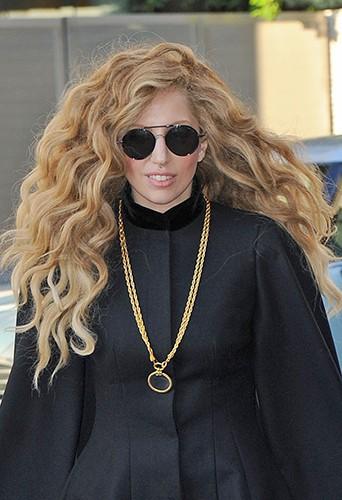 Lady Gaga à New-York le 23 août 2013