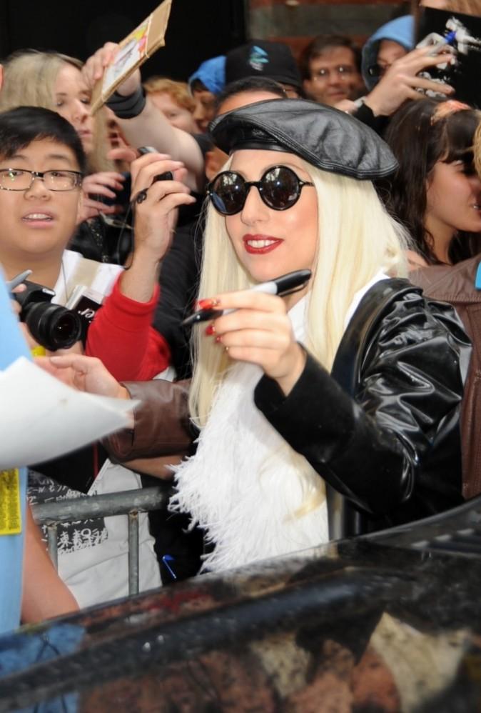 Les fans l'adorent et elle adore les fans !