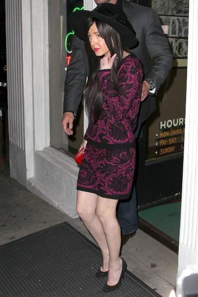 Lady Gaga et sa soeur Natali, Los Angeles, 19 janvier 2013.