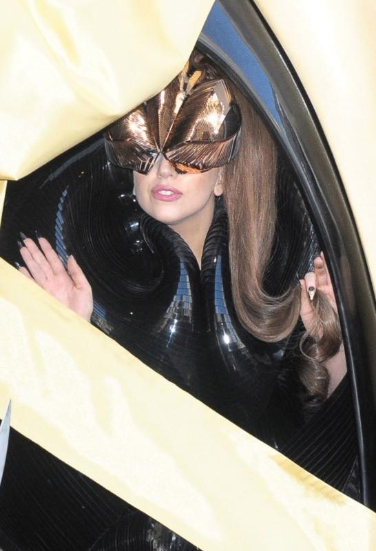 Lady Gaga, New York, 14 septembre 2012.
