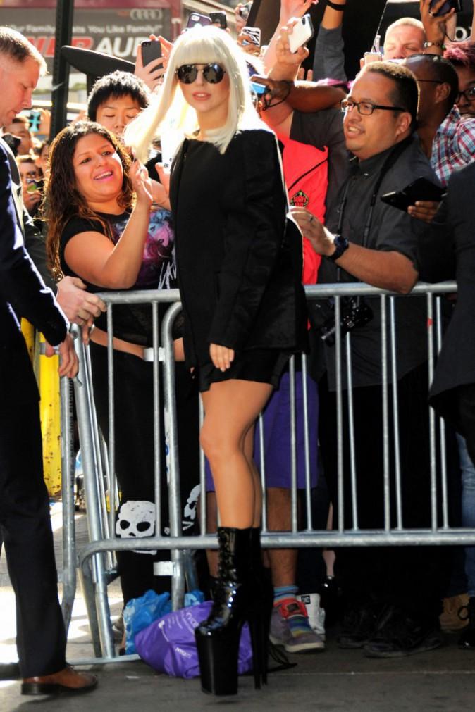 Lady Gaga, Good Morning America, New York City, le 9 septembre 2013