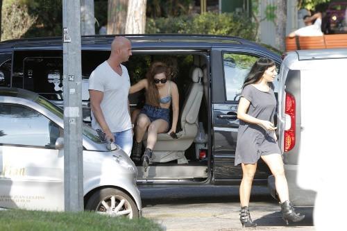Lady Gaga, Juan les Pins, 5 octobre 2012.