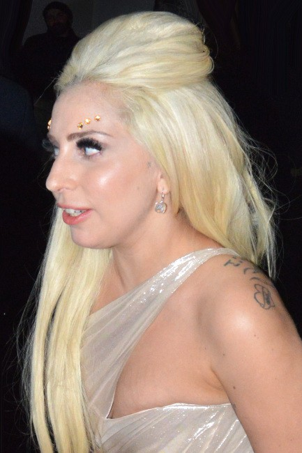 Lady Gaga à Los Angeles, le 23 janvier 2014.