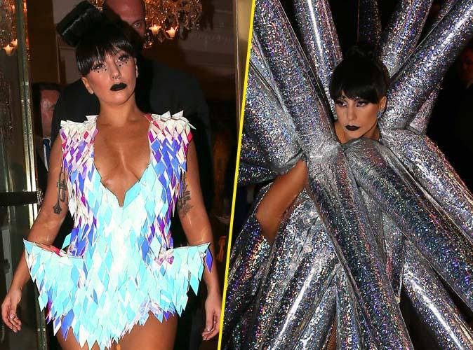 Lady Gaga : décolletée avant son concert à Bercy, étoilée après !