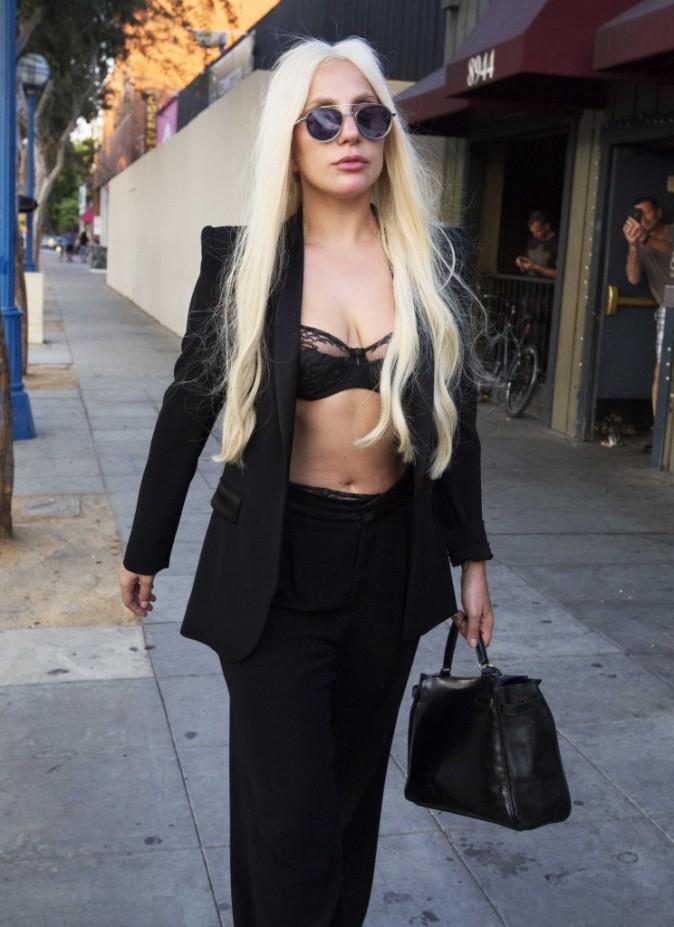 Lady Gaga le 8 septembre 2015