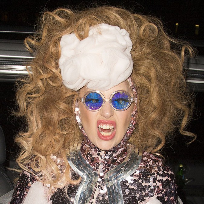 Lady Gaga à Londres le 6 décembre 2013