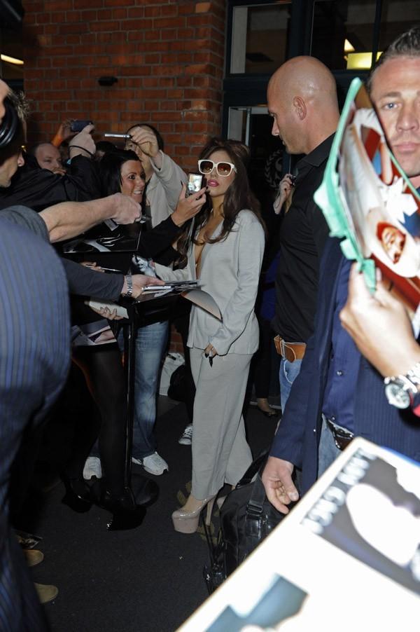 Lady Gaga à Hanovre le 24 septembre 2012