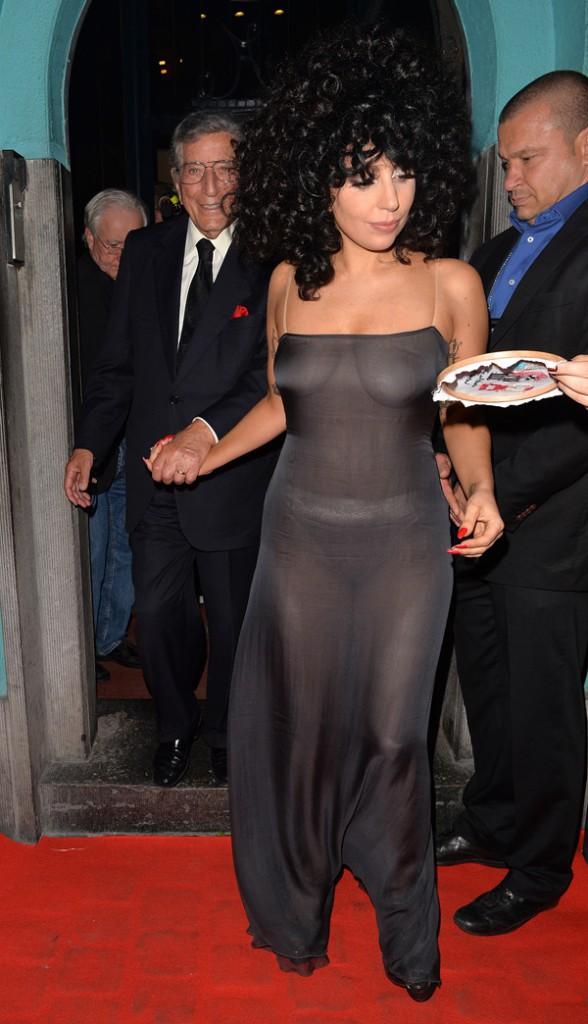 Lady Gaga à Bruxelles le 22 septembre 2014