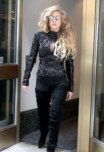Lady Gaga à New-York le 21 août 2013