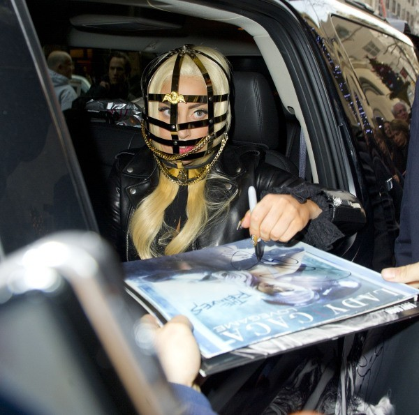 Lady Gaga, New York, 15 décembre 2012.