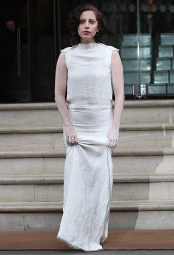 Lady Gaga à Londres le 1er novembre 2013
