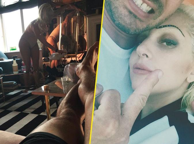 Lady Gaga et Taylor Kinney le 26 juillet 2015