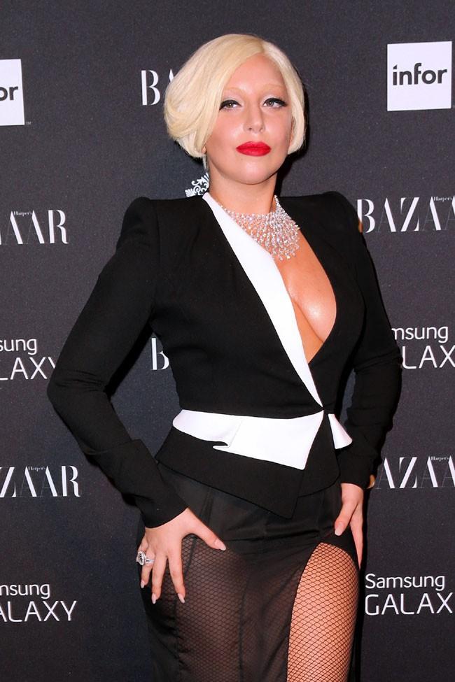 Lady Gaga à New-York le 5 septembre 2014