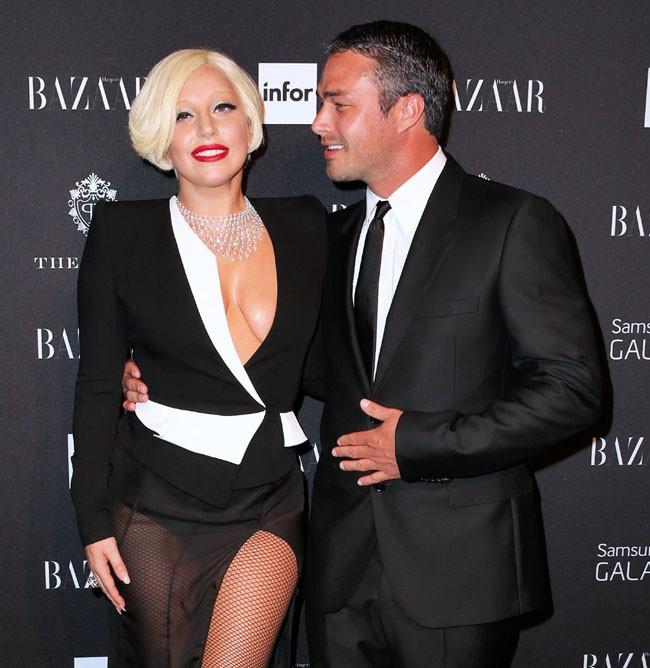 Lady Gaga et Taylor Kinney à New-York le 5 septembre 2014
