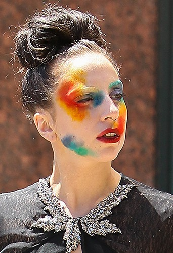 Lady Gaga à Los Angeles le 12 août 2013