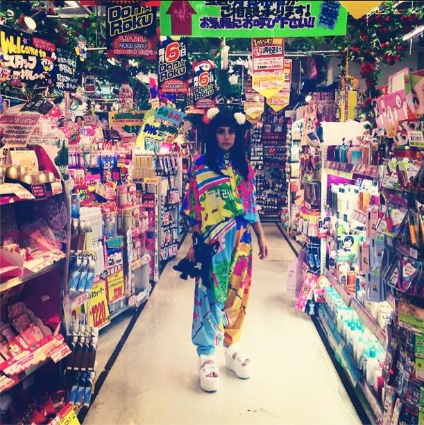 Lady Gaga à Tokyo le 13 août 2014