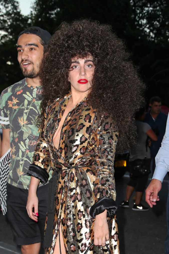 Photos : Lady Gaga : la Mother Monster se mue en une jolie beauté afro !