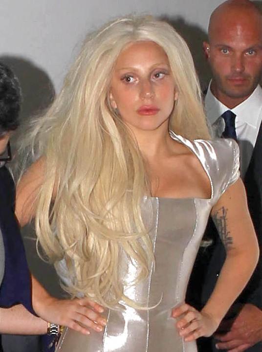 Lady Gaga à Beverly Hills le 11 juillet 2013