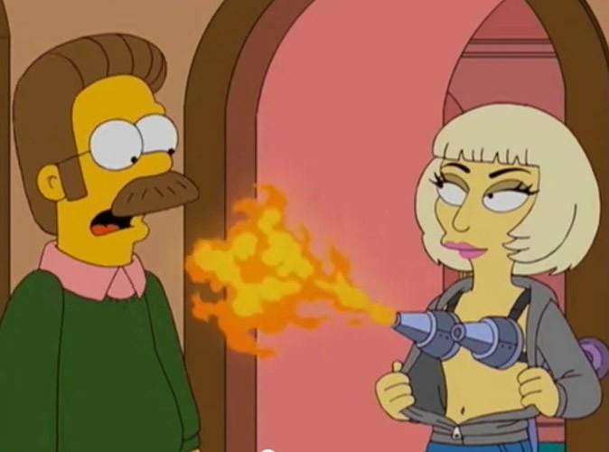 Mr Flanders a l'air choqué par Gaga