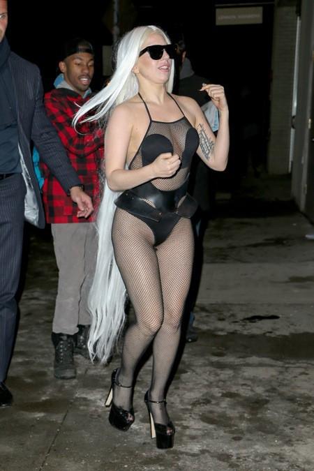 Lady Gaga hier à New York