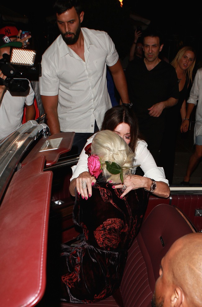 Lady Gaga à Los Angeles le 12 août 2015