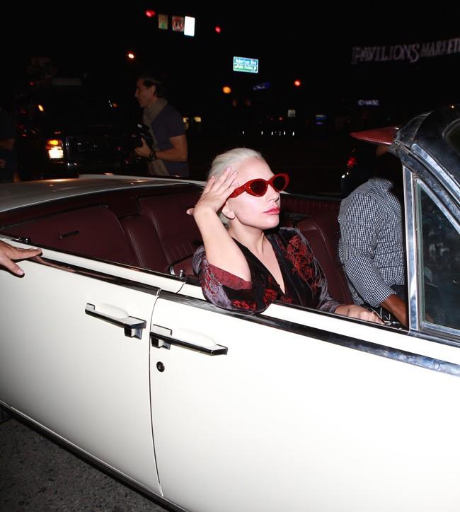 Lady Gaga à Los Angeles le 12 août 2015