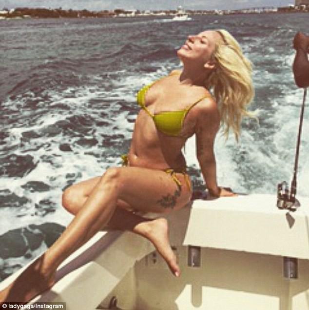 Lady Gaga le 15 juin 2015