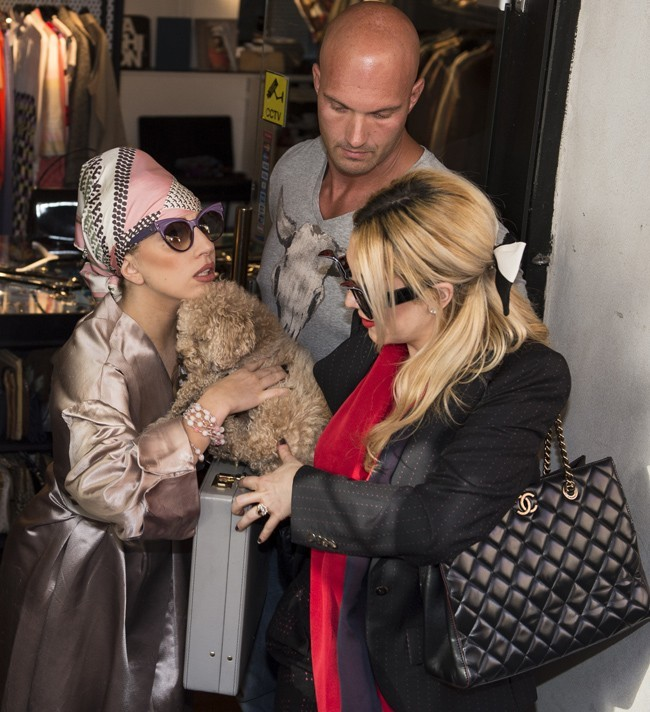 Lady Gaga le 3 septembre 2012 à Copenhague
